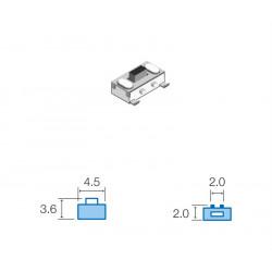 Pulsador de tacto SMD sw028