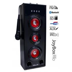 Torre múscica JoyBox Karaoke Serie Pro RD USB BLUETHOOTH. Mod. JOYBOXPRO