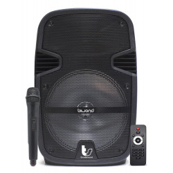 "Altavoz trolley Autoamplificado 400W 12"" ThunderSound Biwond. Mod. TS12"