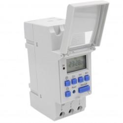 Temporizador digital programable heschen 12V