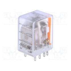 Relé electromagnético DPDT 230VCA 2x10A/250VAC. Mod. DRM270730