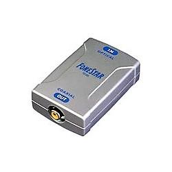 Convertidor de audio digital coaxial a óptico FONESTAR FO-365