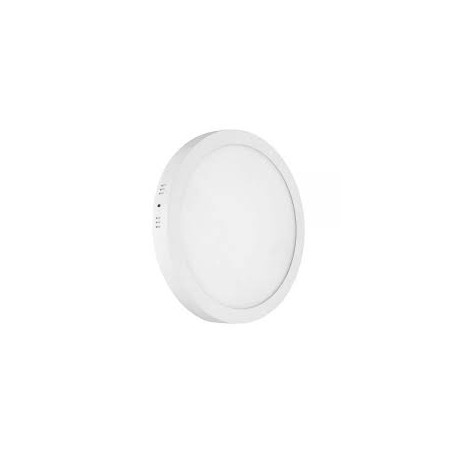 Downlight LED 24W redondo blanco superficie. Mod. 262400CW