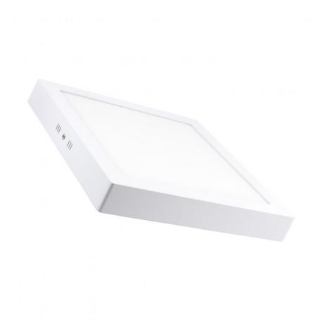 newest 74ad4 6a0b2 Downlight LED 24W cuadrado blanco superficie. Mod. 462400CW - ECOBADAJOZ  DON BENITO