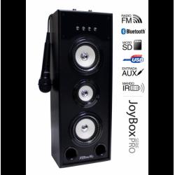 Torre música JoyBox Karaoke Serie Pro WH BLUETHOOTH. Mod. JOYBOXPROWH