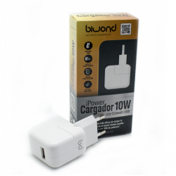 Cargador Pared 10W (2.1A) iPower USB Biwond. Mod. iPower