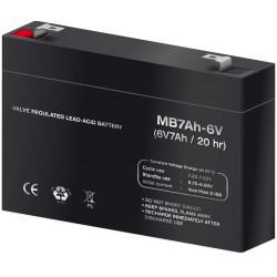 Batería plomo 6,0V/7,0Ah. Mod. BAT305