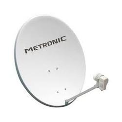 Antena parabolica 60 cm + brazo + LNB METRONIC. Mod. 498151