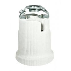 Portalámpara porcelana E-40. Mod. LU-7185