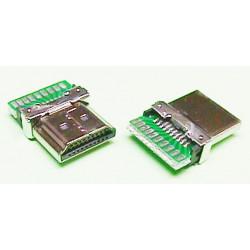 CONECTOR 19P HDMI MACHO. MOD. 3941