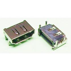 CONECTOR 19P HDMI HEMBRA (SMD). MOD. 3942