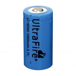 Batería recargable Li-Ion LC16340, SIN cto. de control. Mod. BAT547