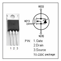 TRANSISTOR MOS-NPN-FET 60V/50A/150W