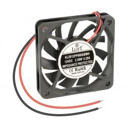 Ventilador con rodamiento de bolas 12VCC 6X6. Mod. VEN008