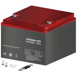 Batería plomo 12,0V/26Ah. Mod. BAT327
