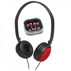 Auricular Combo Rojo Mod TMHE358R