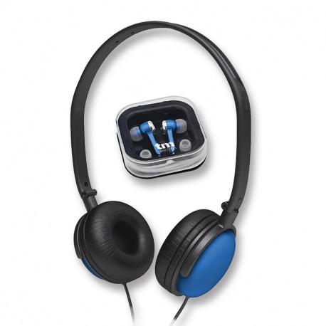 Auricular Combo Azul Mod TMHE358A