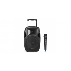 Altavoz activo portátil trolley batería FONESTAR. Mod. MALIBU-110L