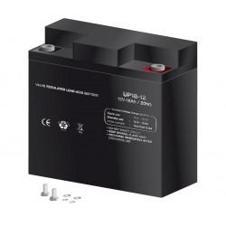 Batería plomo 12,0V 18Ah Mod BAT316