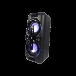 Altavoz inalámbrico Daewoo con Karaoke, Super Bass, Bluetooth, Negro. Mod. DSK-500
