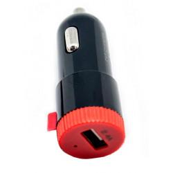Cargador USB Coche CC/CC 5 V/2.4 A Rojo. Mod. 51644