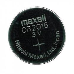 Pilas BOTON CR2016 MAXELL Litio. (UNIDAD). Mod. CR2016