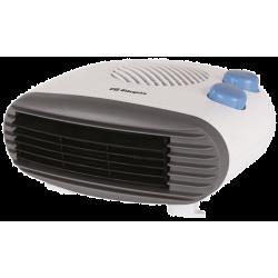 Calefactor horizontal 2000W Termostato regulable Orbegozo. Mod. FH 5009
