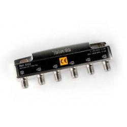 Repartidor distribuidor 5 salidas 10/12dB 5/2400MHz Televes Mod. 5153