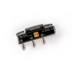 Repartidor 2 salidas 5/2400MHz 4/5dB Televes Mod. 5150