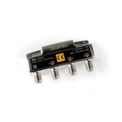 Repartidor 3 salidas 7/9dB 5/2400MHz Televes Mod. 5151