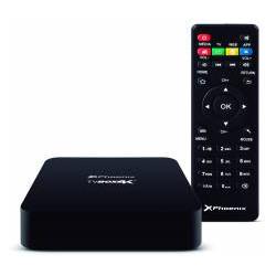 Android TV box quad Core Phoenix 2GB DDR3 8GB 4k WIFI negro. Mod. TVBOX4K