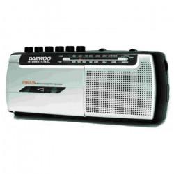 Radio cassette AM / FM grabador Daewoo. Mod. DRP-107