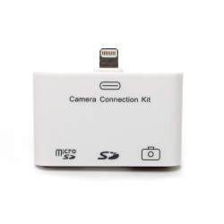 Conector para iPad 3 en 1 USB micro SD y SD