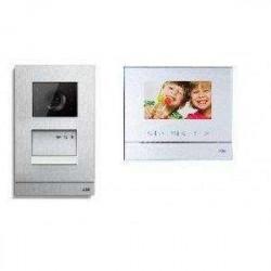 Kit videoportero color Welcome M Niessen 1 vivienda auricular. Mod. W2821
