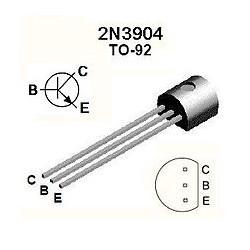 Transistor NPN NPN 60V/0,2A/0,625W. Mod. 2N3904