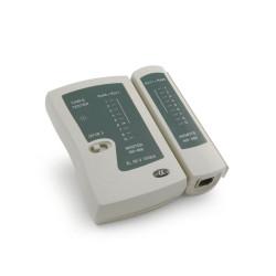 Comprobador Tester de cable LAN RJ45 RJ11. Mod. X0005GPDV3