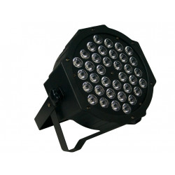 Foco con 36 LEDs 1W 7 canales DMX MARK. Mod. SuperParLED ECO 36