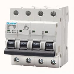 Interruptor magnetotérmico 4P 16A 6kA Mod. RV30NC416