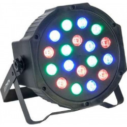 Proyector LED RGB 18W DMX. MOD. PARTY-PARTY181