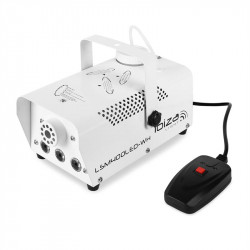 Mini máquina humo 400W con 3 LED. MOD. LSM400LED-WH