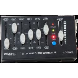 CONTROLADOR DMX DE 12 CANALES IBIZA LIGHT. MOD. LC12DMX