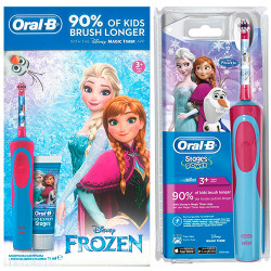 Kit Cepillo eléctrico Oral B Kids D12513KFROZKIT