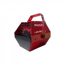 Máquina de burbujas Ibiza Light Rojo. MOD. LBM10