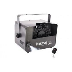 Máquina 2 en 1 humo y burbujas Ibiza Light. Mod. FOG-BUBBLE400