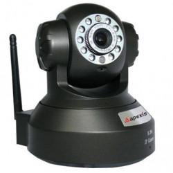 CAMARA IP WIFI NEGRA APEXIS HD AH8044. Mod. 75010