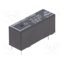Relé electromagnético SPDT Uinductor12VCC 8A/250VAC 300mW. Mod. G6RL-1-ASI-12DC