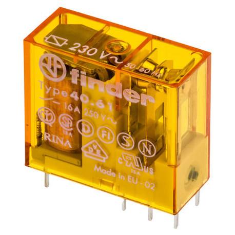 Relé standard 220Vca 1Cto. 16A