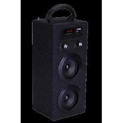 Mini torre portátil Belson c/micrófono y mando a distancia. MOD. PBSL-14