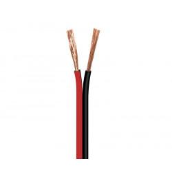 Cable para altavoz, Rojo-Negro 2X0.75 10M. Mod. WIR9011-10