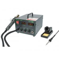 Estación repair de soldadura y aire caliente para SMD. Mod. HRV6653